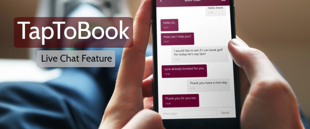 Introducing TapToBook New Live Chat Feature | TapToBook