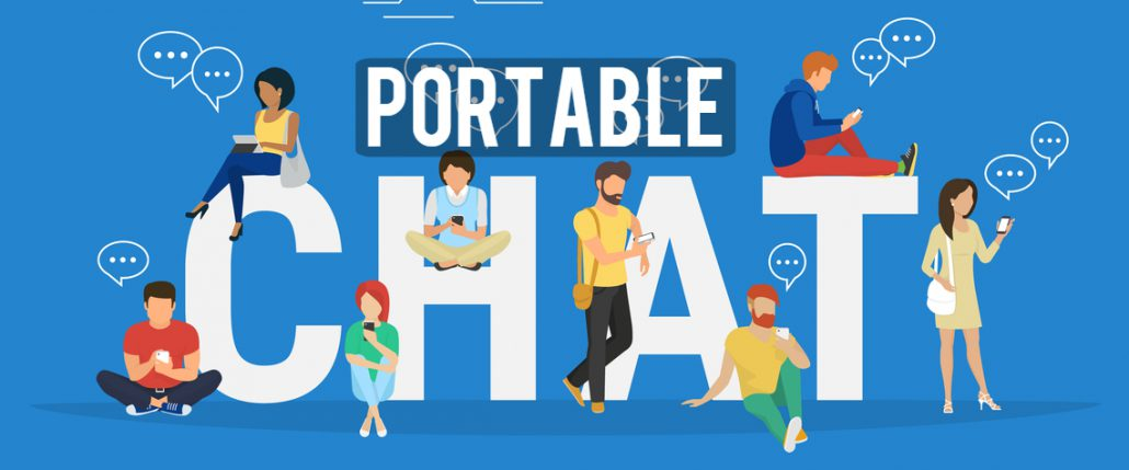 Portable Chat can Double Conversion Rate